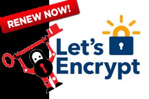 Actualizar Certificado SSL HTTPS con Let´s encrypt y Certbot